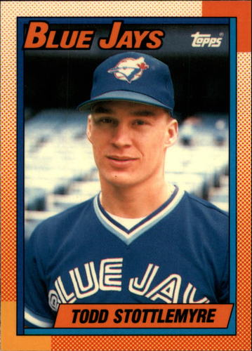 Photo of 1990 Topps Tiffany #591 Todd Stottlemyre