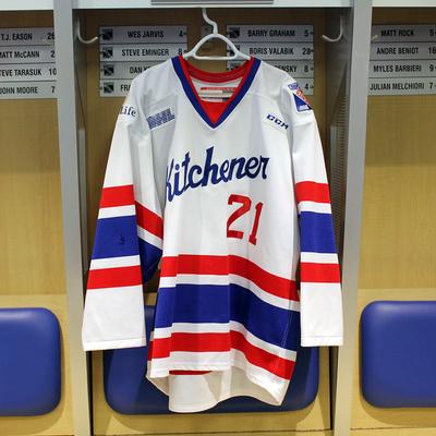 #21 Nick McHugh 2016-17 Warm-up Jersey