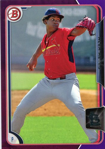 Photo of 2015 Bowman Prospects Purple #BP23 Alex Reyes