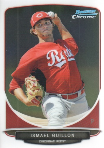 Photo of 2013 Bowman Chrome Prospects #BCP143 Ismael Guillon