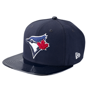 Toronto Blue Jays Solid Shine Snapback Navy Cap by New Era