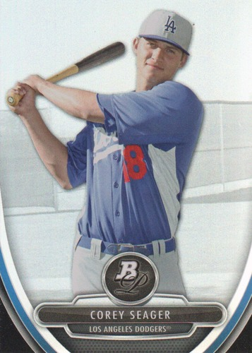 Photo of 2013 Bowman Platinum Prospects #BPP41 Corey Seager Pre-Rookie Card