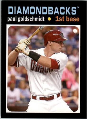 Photo of 2013 Topps Update 1971 Topps Minis #35 Paul Goldschmidt -- D'backs post-season