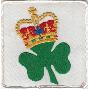 Official King Clancy Toronto Maple Leafs Jersey Patch - 1986-87 season