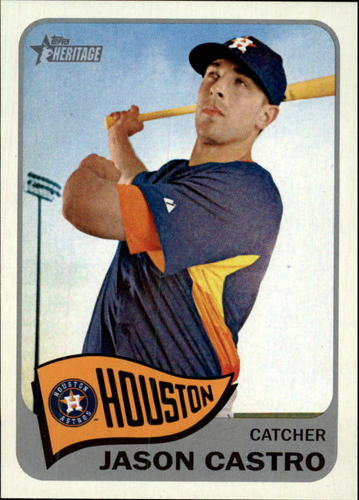 Photo of 2014 Topps Heritage #321 Jason Castro