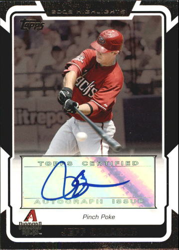 Photo of 2008 Topps Highlights Autographs #JS Jeff Salazar G UPD