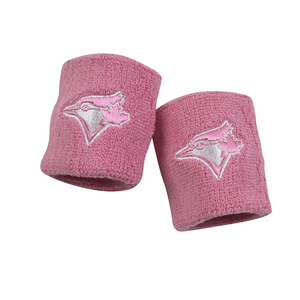 Toronto Blue Jays Wristbands Pink by Franklin Sports Inc.