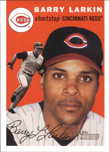 Photo of 2003 Topps Heritage #62 Barry Larkin