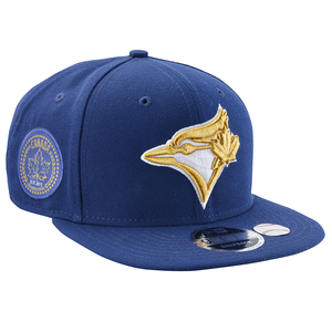 Toronto Blue Jays Gold City Snapback Cap by New Era