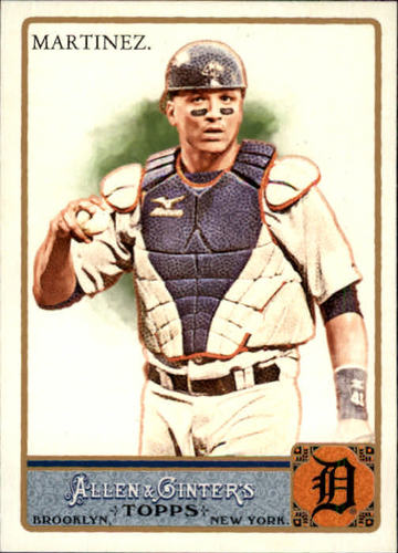 Photo of 2011 Topps Allen and Ginter #145 Victor Martinez