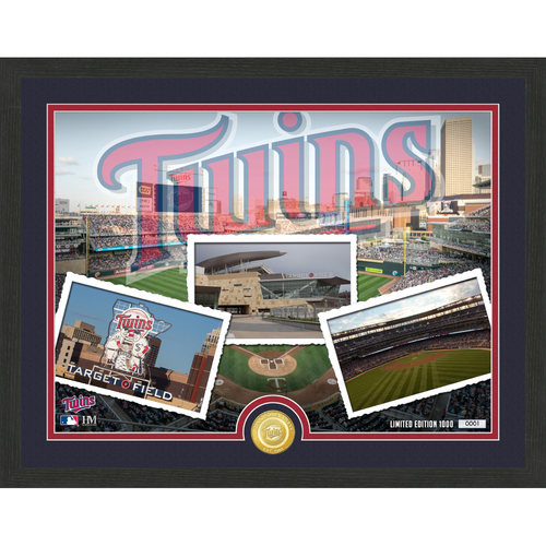 "Photo of Minnesota Twins ""Team Pride"" Bronze Coin Photo Mint - MLB.com Auctions Exclusive"