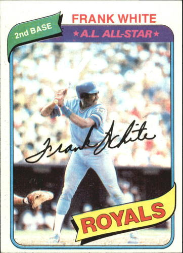 Photo of 1980 Topps #45 Frank White