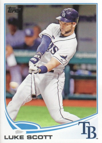 Photo of 2013 Topps Update #US256 Luke Scott