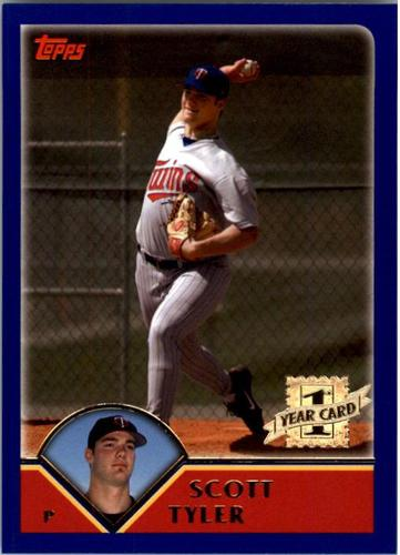 Photo of 2003 Topps #319 Scott Tyler FY RC