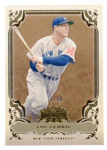 Photo of 2013 Topps Triple Threads Gold #4 Lou Gehrig
