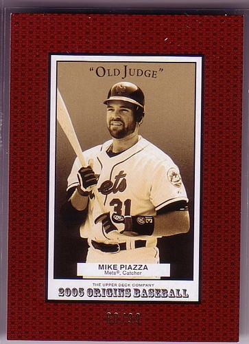 Photo of 2005 Origins Old Judge Red #94 Mike Piazza