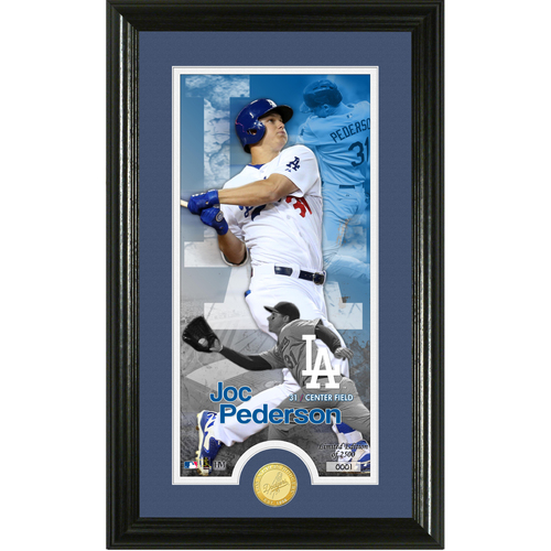 Photo of Serial #1!  Joc Pederson Supreme Bronze Coin Photo Mint