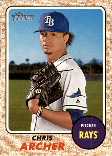 Photo of 2017 Topps Heritage #223 Chris Archer