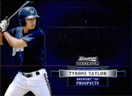 Photo of 2012 Bowman Sterling Prospect Autographs #TT Tyrone Taylor