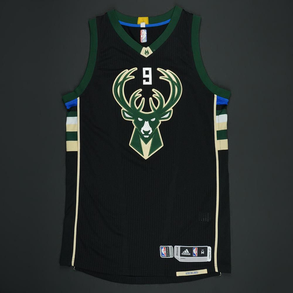 Michael Beasley - Milwaukee Bucks - Black Playoffs Game-Worn Jersey - 2016-17 Season