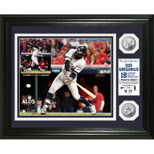 Photo of Serial #1! Didi Gregorius 2017 ALDS Silver Coin Photo Mint