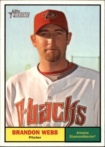 Photo of 2010 Topps Heritage #315 Brandon Webb