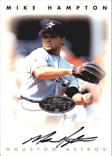 Photo of 1996 Leaf Signature Autographs Silver #92 Mike Hampton