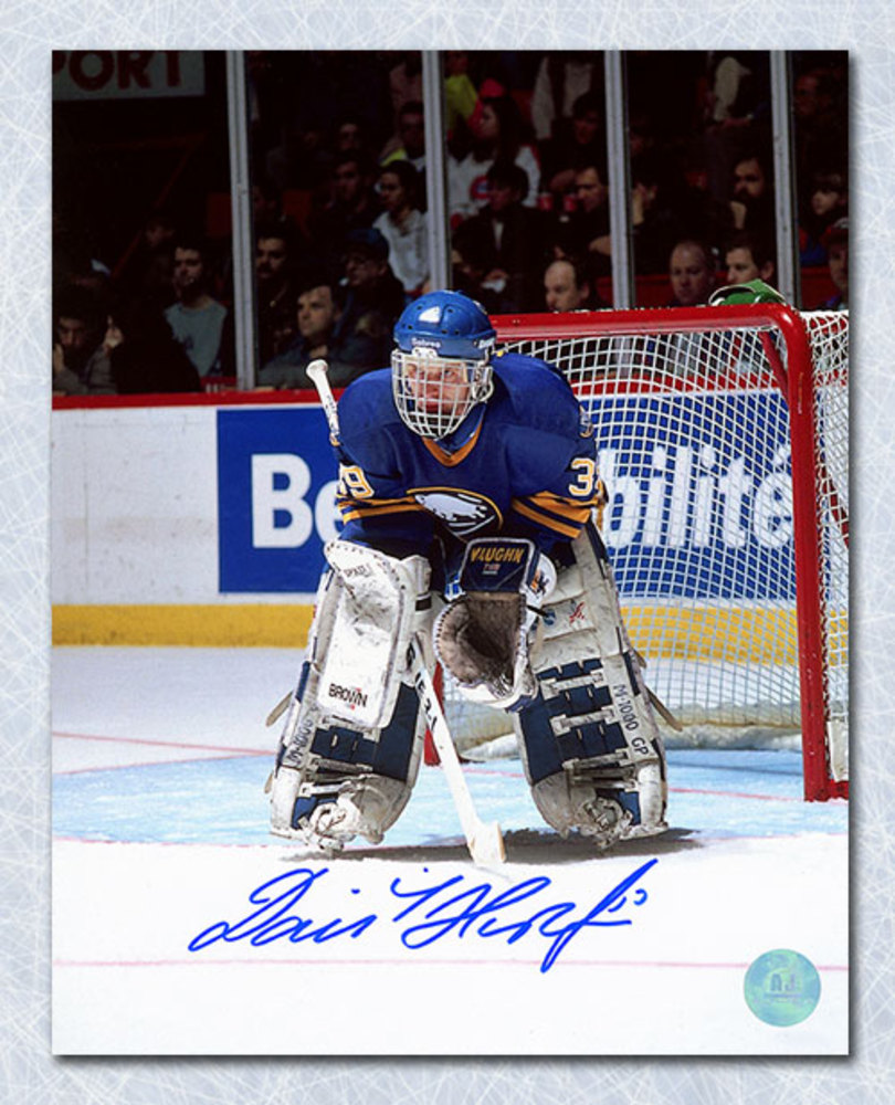Dominik Hasek Buffalo Sabres Autographed Dominator Goalie 8x10 Photo