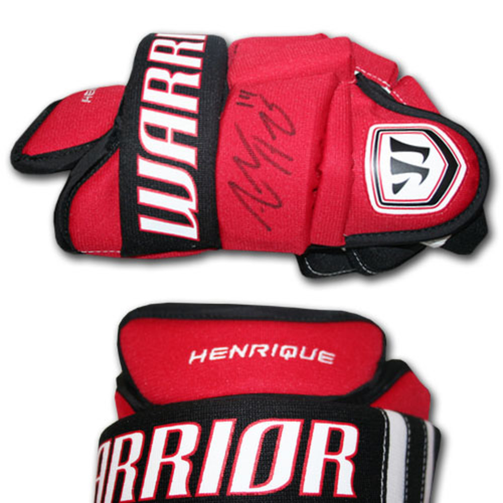 Adam Henrique (New Jersey Devils) Autographed Warrior