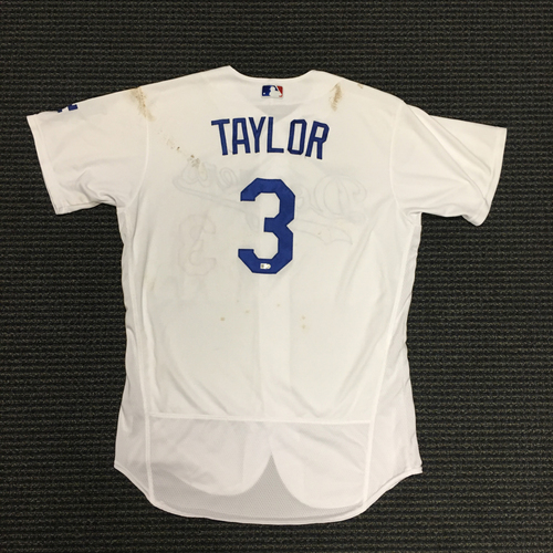 Photo of LA Dodgers Foundation Auction: Chris Taylor Game-Used LA Dodger Jersey