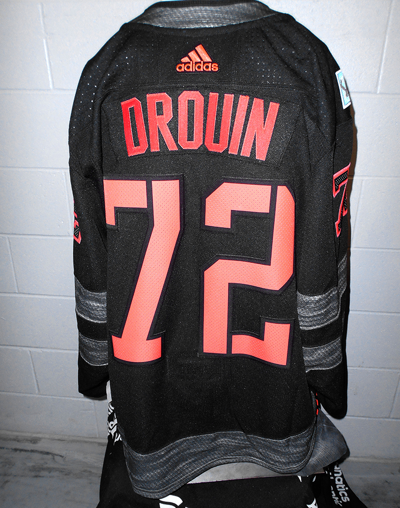 Jonathan drouin jersey - Jonathan Drouin Tampa Bay Lightning Game Worn Home World Cup Of Hockey 2016 Team North America Jersey