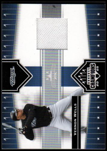 Photo of 2005 Donruss Champions Impressions Material #126 Vernon Wells Jsy T3