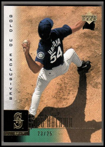 Photo of 2001 Upper Deck Exclusives Gold #83 John Halama