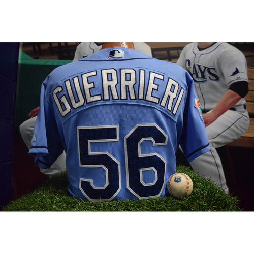 Photo of Autographed Spring Training Jersey: Taylor Guerrieri