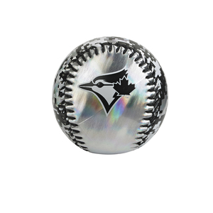 Toronto Blue Jays Hyperlyte Metallic Black/White Baseball by Franklin