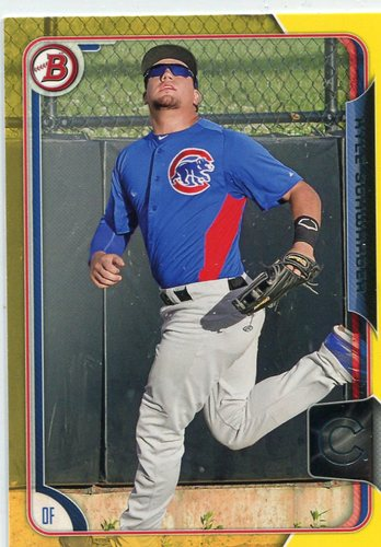 Photo of 2015 Bowman Prospects Yellow #BP58 Kyle Schwarber