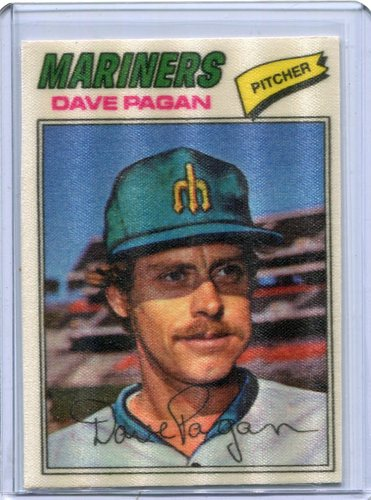 Photo of 1977 Topps Cloth Stickers #35 Dave Pagan