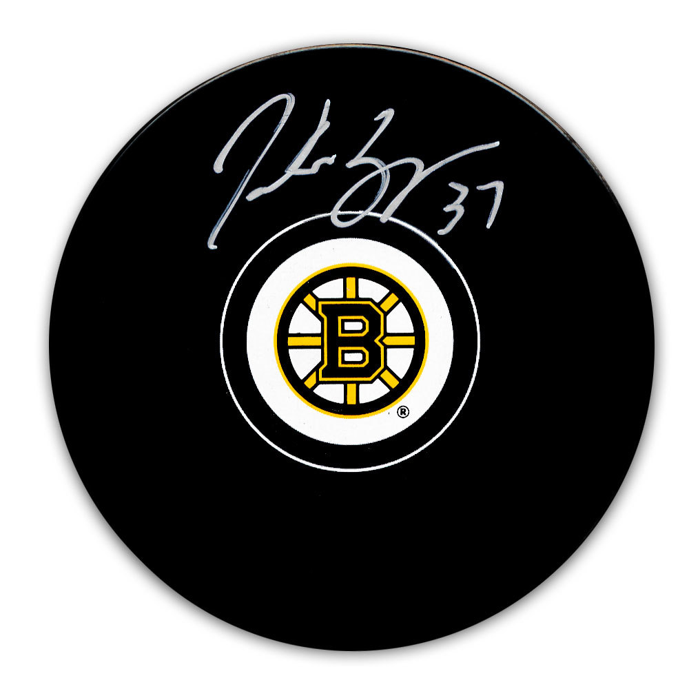 Patrice Bergeron Boston Bruins Autographed Puck