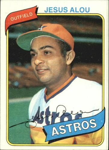 Photo of 1980 Topps #593 Jesus Alou