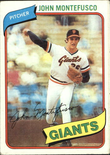 Photo of 1980 Topps #195 John Montefusco
