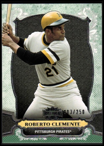 Photo of 2014 Topps Triple Threads Emerald #50 Roberto Clemente