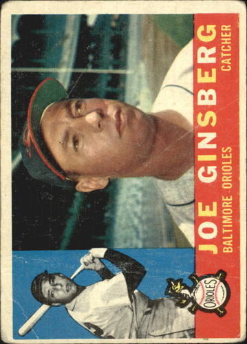 Photo of 1960 Topps #304 Joe Ginsberg