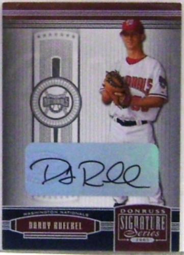 Photo of 2005 Donruss Signature Autograph Silver #148 Danny Rueckel T4