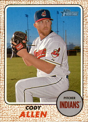 Photo of 2017 Topps Heritage #65 Cody Allen