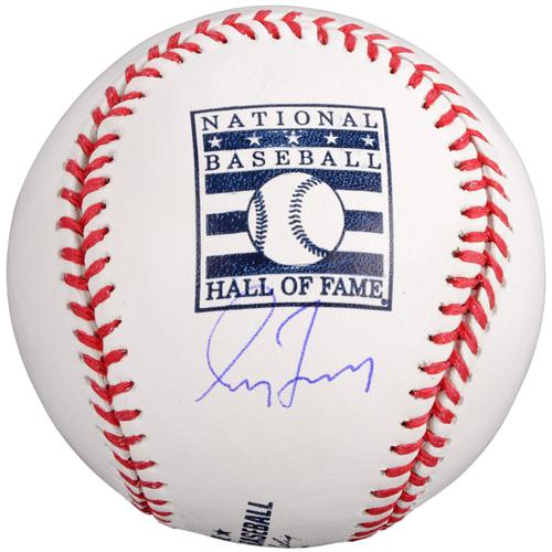 Photo of Greg Maddux Atlanta Braves Autographed HOF Logo Baseball