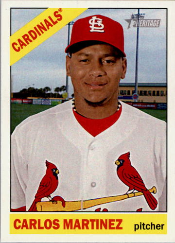 Photo of 2015 Topps Heritage #298 Carlos Martinez