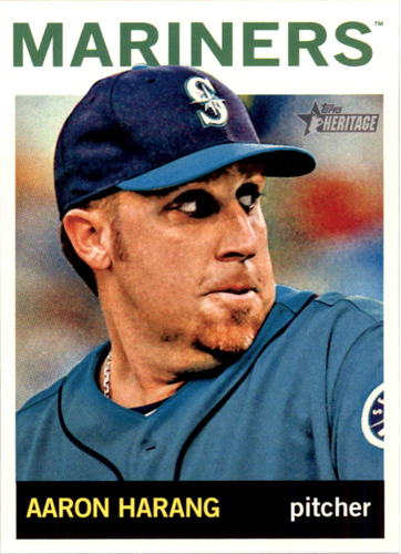 Photo of 2013 Topps Heritage #H582 Aaron Harang
