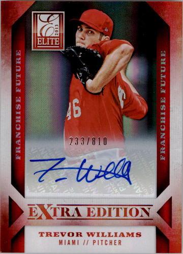 Photo of 2013 Elite Extra Edition Franchise Futures Signatures #14 Trevor Williams/810