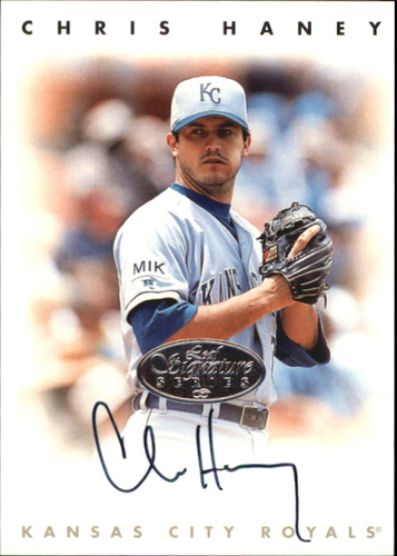 Photo of 1996 Leaf Signature Autographs Silver #93 Chris Haney