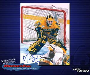 MARTY TURCO Signed University of Michigan 8 X 10 Photo - 70233